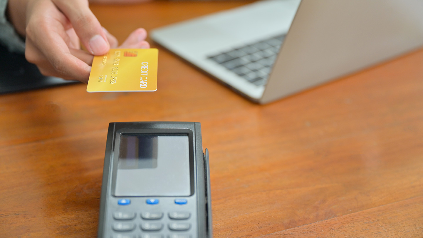 Business financing credit card